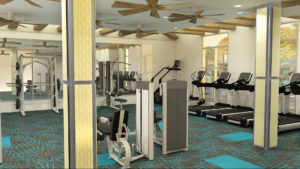 The Mark – Fitness Room