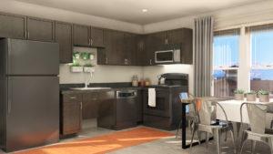 Woodland Park – Unit Kitchen