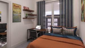 Roam – B1 Unit Bedroom